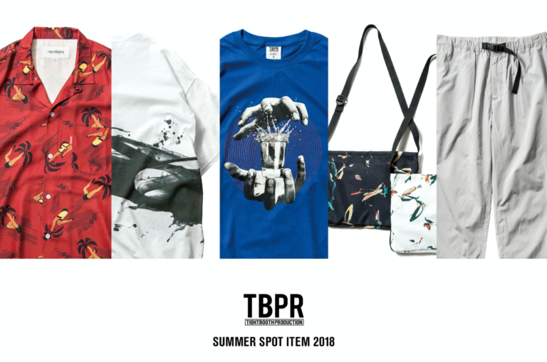 [TIGHTBOOTH®︎] TBPR x JUN INOUE Summer Spot Item2018